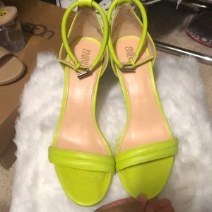 Lightly worn Prabal Gurung Neon for Target Heels